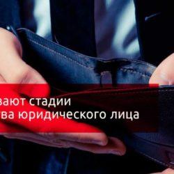 Основные стадии банкротсва: пошаговая инструкция